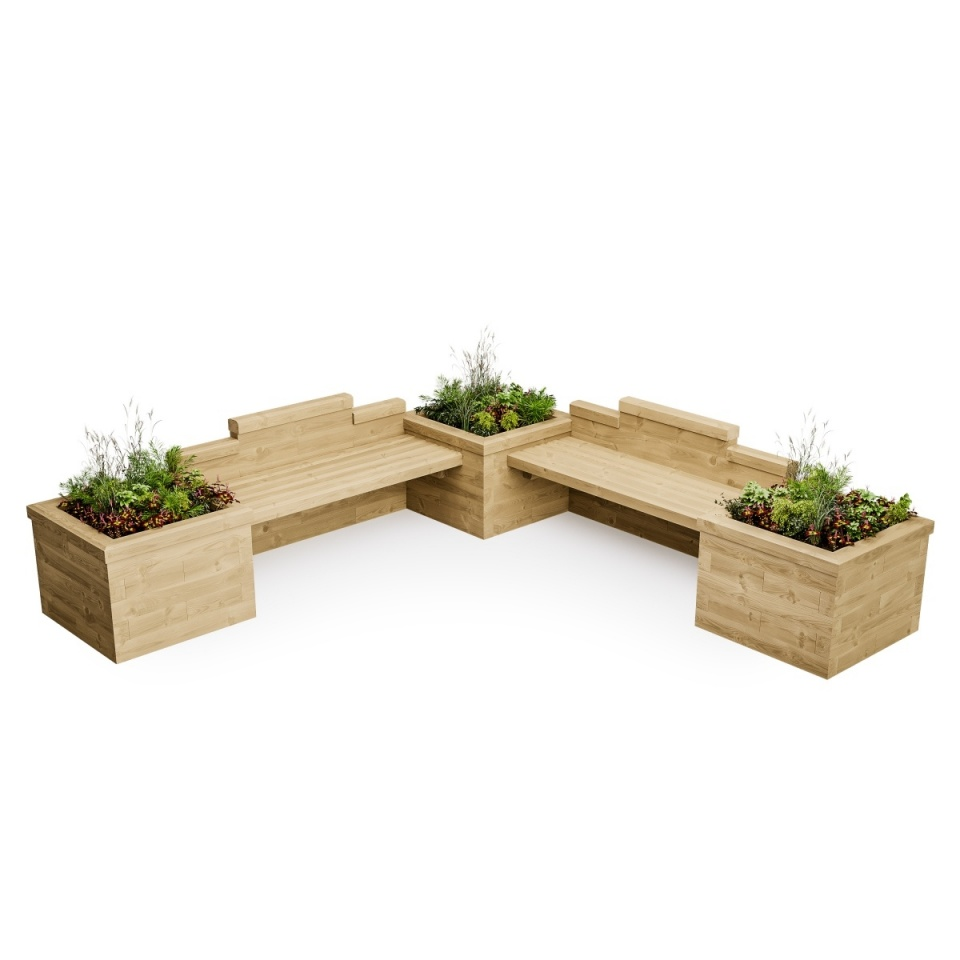 Double Planter Seat For Kids