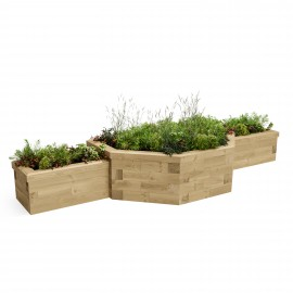 Multi Level Raised Bed