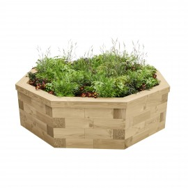 Octagonal Raised Bed