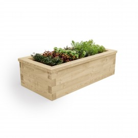 Raised Bed / Length x Width x Height - 1500 x 1125 x 350mm