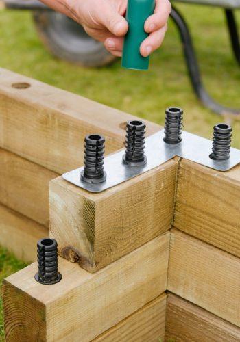 Konstrukční systém WoodBlocX